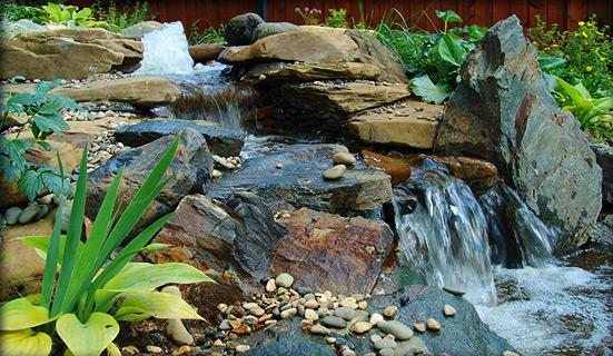 Ручьи и водопады